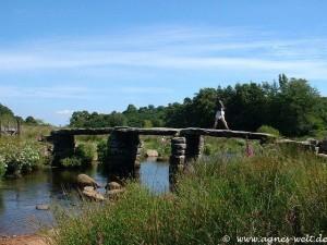 Clapper Bridge im Dartmoor
