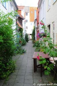 Lübecker Gänge und Höfe