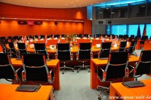 Internationaler Konferenzraum im Bundeskanzleramt