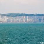 Kreidefelsen und Leuchtturm von Dover