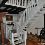Treppenaufgang von unten