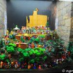 Nachstellung des Hambacher Festes mit Playmobil Figuren